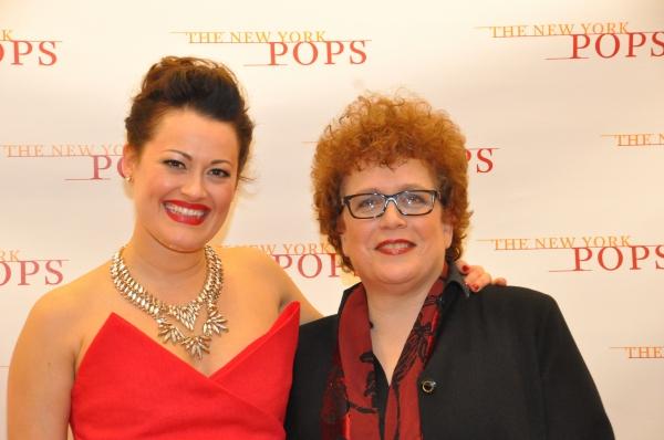Ashley Brown and Judith Clurman