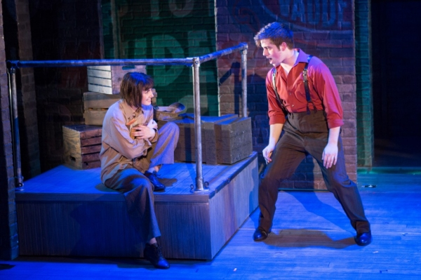 Tulsa (Vincent Kempski, right) captures the imagination of Louise (Maria Rizzo) in '' Photo