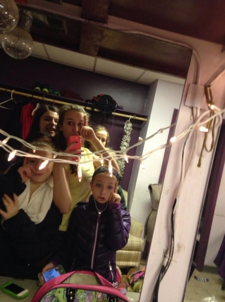 Photo Flash: Saturday Intermission Pics, Dec 21 - Christmas Is in the Air! SCROOGE, THE FANTASTICKS and More!