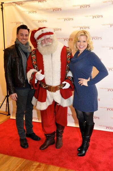 Lily Rudd, Santa Claus and Anna Swenson