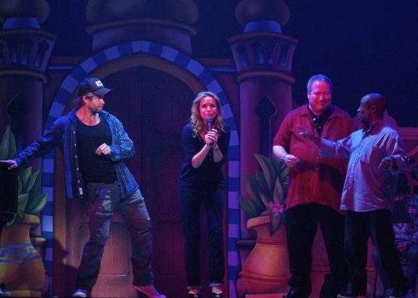 Craig Ramsay, Lea Thompson, Roy J. Leake, and Director Jeffrey Polk