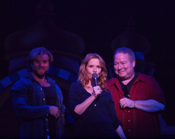 Craig Ramsay, Lea Thompson, and Roy J. Leake Photo