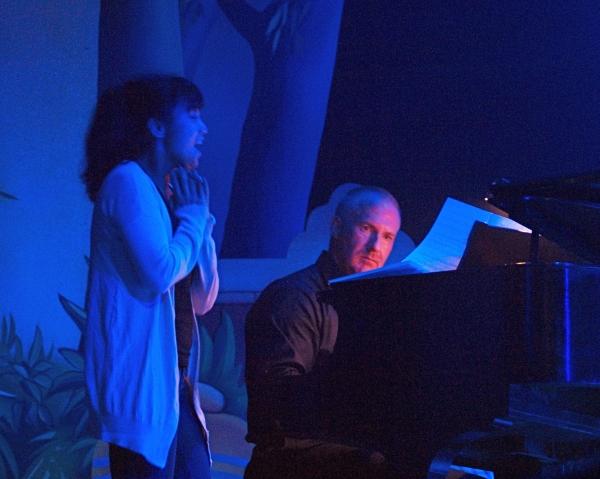 Jennifer Paz and Musical Director John Gentry Tennyson