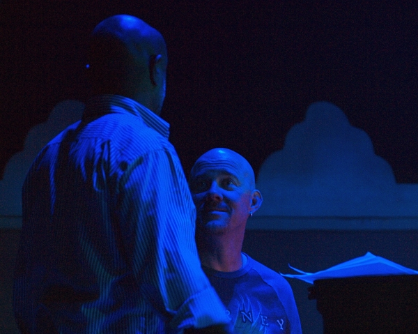 Director Jeffrey Polk with Musical Director Todd Schroeder