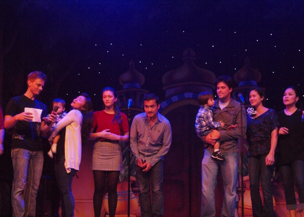 Anthony Fedorov, Jennifer Paz, Isa Camille Briones, Jon Jon Briones, Cliffton Hall, Deedee Magno Hall, and Joan Almedilla