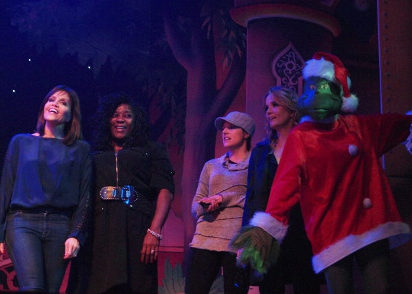 Joan Ryan, Loretta Devine, Nicole Parker, Lea Thomson, and The Grinch