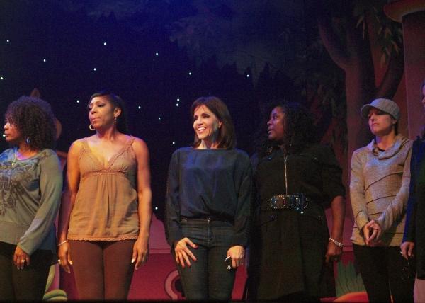 Yvette Cason, Dawnn Lewis, Joan Ryan, Loretta Devine, and Nicole Parker