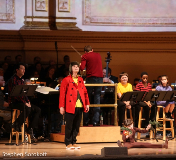 Photo Coverage: In Rehearsal with the NY Pops for A CHARLIE BROWN CHRISTMAS