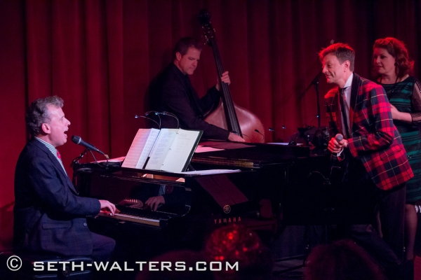 Photo Flash: A SWINGING BIRDLAND CHRISTMAS with Klea Blackhurst, Jim Caruso, Billy Stritch & More