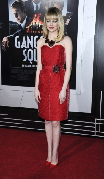Fashion Photo of the Day 12/23/13 - Emma Stone