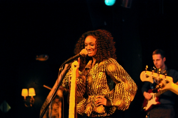Photo Flash: MOTOWN's Saycon Sengbloh Performs at Drom