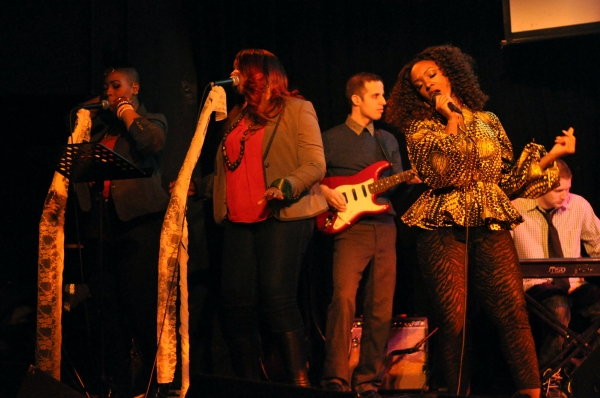 Saycon Sengbloh, Christin Amena (vocals), Stephanie Fisher(vocals), Andrew Fisher (Keys), David Rosenthal (Guitar)
