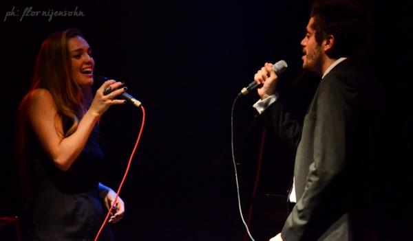 Florencia Otero y Federico Salles