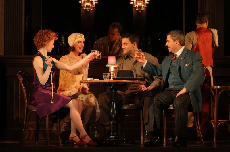 Photo Flash: Meet the Full Cast of Roundabout's MACHINAL