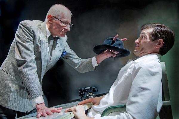 Dr. Chumley (Denis Latkowski) and Dr. Lyman (Chris Cotterman)