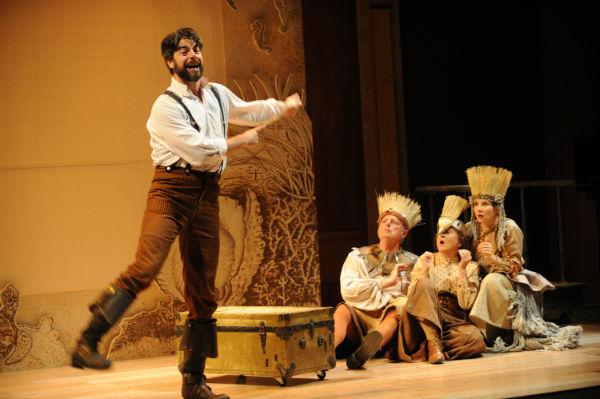 BWW Reviews: SHIPWRECKED! THE AMAZING ADVENTURES OF LOUIS DE ROUGHMONT (AS TOLD BY HIMSELF)