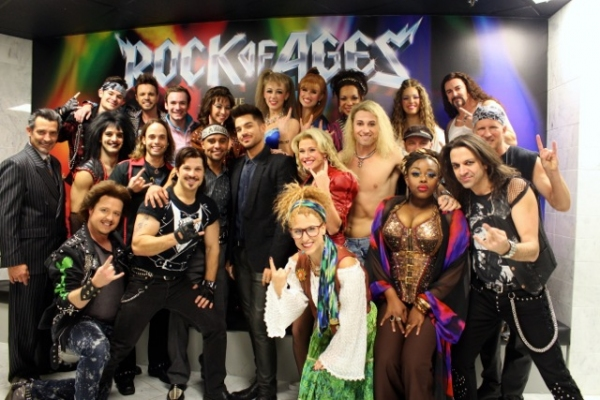 Adam Lambert, ROCK OF AGES Cast