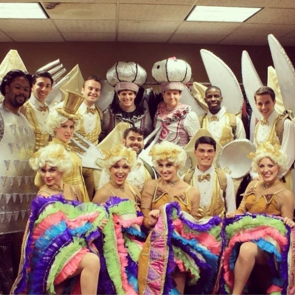 Photo Flash: Saturday Intermission Pics, Dec 28 - BIG FISH Rounds Out 2013 with Last SIP and More!
