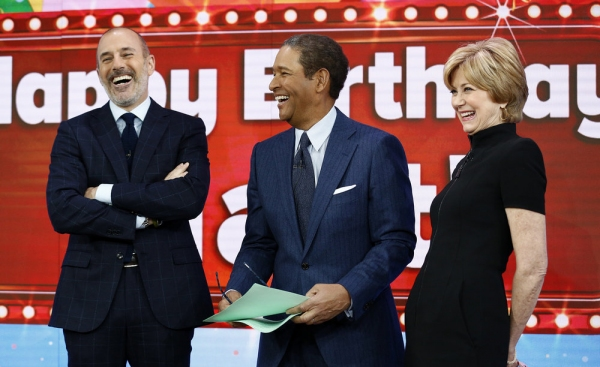 Jane Pauley, Bryant Gumbel and Matt Lauer