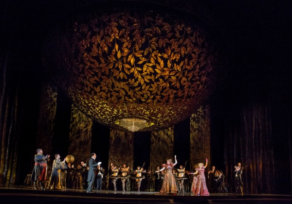 Photo Flash: First Look at Danny Burstein and Betsy Wolfe and More in The Met's DIE FLEDERMAUS