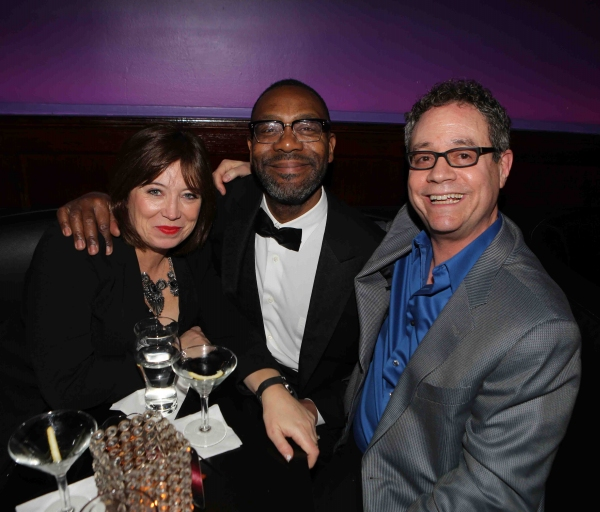 Lisa Makin, Lenny Henry, Mark Sendroff