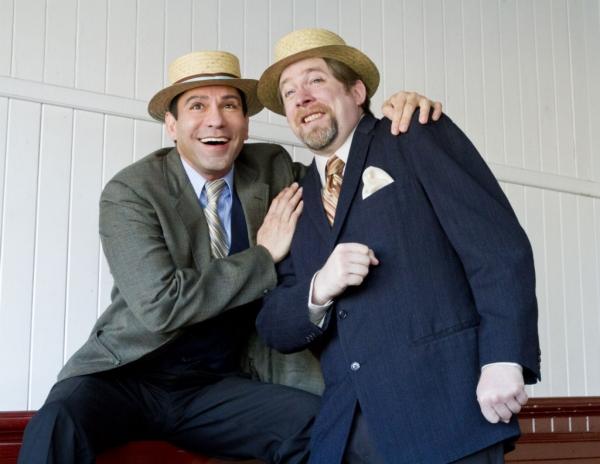 Photo Flash: Sneak Peek at Rudy Guerrero and Bill Fahrner in Theatre Rhino's ROAD SHOW