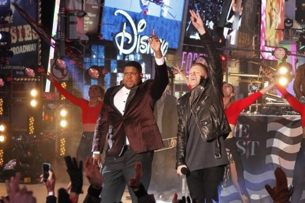 NEW YORK, 12/31/13 - Coverage of the celebration of the New Year on the annual ABC Television Network special - DICK CLARK''S NEW YEAR''S ROCKIN'' EVE 2014 WITH RYAN SEACREST - broadcasting live from Times Square in the heart of New York City, December 31