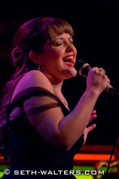 Photo Flash: Jenna Esposito & Jim Van Slyke Perform Music of Connie Francis and Neil Sedaka at Birdland