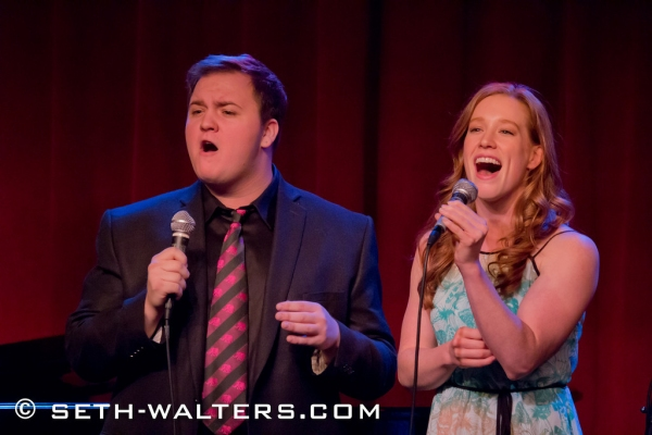 Photo Flash: Marilyn Maye, Alexander Oyen, Kennedy Caughell & More Perform at Jim Caruso's Cast Party