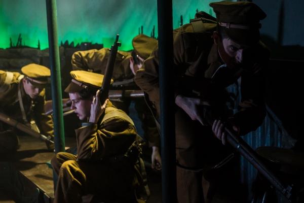 Joseph Taylor, Max Panks, Richard James-King, David Scotland Photo
