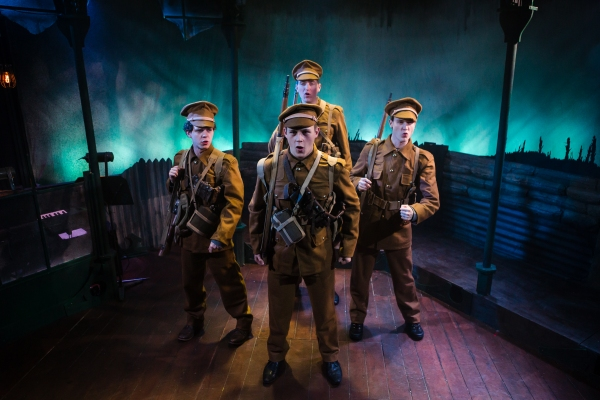 Photo Flash: First Look at LOST BOY, Now Playing at Finborough Theatre