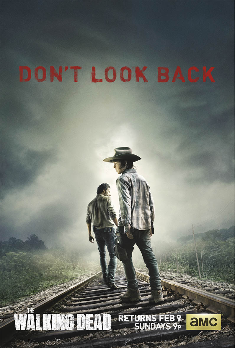 first look poster art for second half of amc 39 s the walking dead season 2. Black Bedroom Furniture Sets. Home Design Ideas