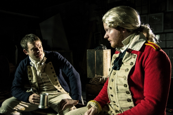 Photo Flash: Promo Shots for Shattered Globe's OUR COUNTRY'S GOOD, Begin. 1/9
