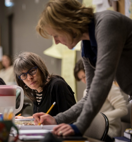 Photo Flash: In Rehearsal with Rebecca Gilman's LUNA GALE at Goodman Theatre