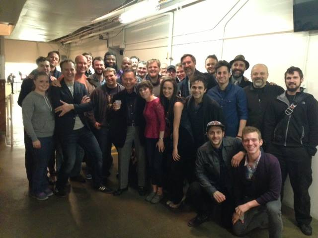 George Takei Visits PETER & THE STARCATCHER In LA