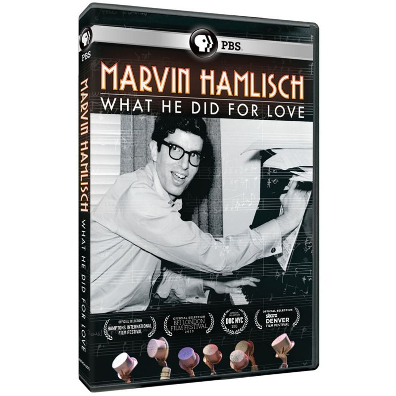 MARVIN HAMLISCH: WHAT HE DID FOR LOVE Doc Now Available For Pre-Order, Out 1/14