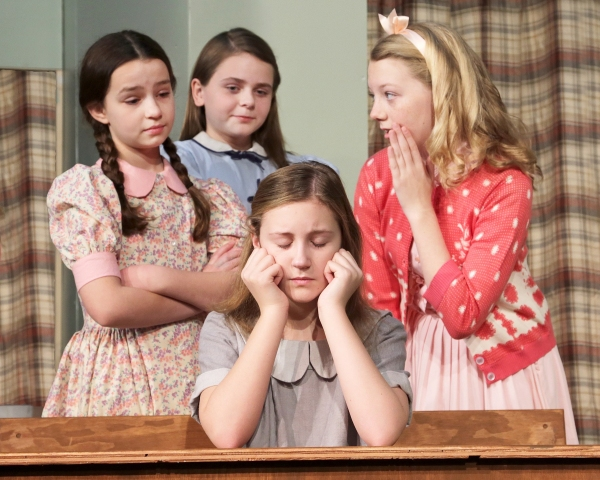 Photo Flash: Promotional Photos for DM Playhouse's THE HUNDRED DRESSES, Begin. 1/17