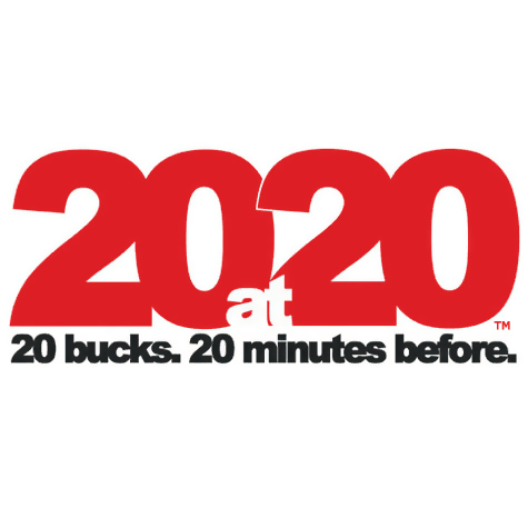 20at20 2014 Ticket Promotion Available 1/21-2/9