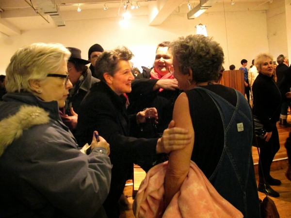 Photo Flash: Split Britches' DESPERATE ARCHIVES Draws Crowds Despite Winter Storm Hercules
