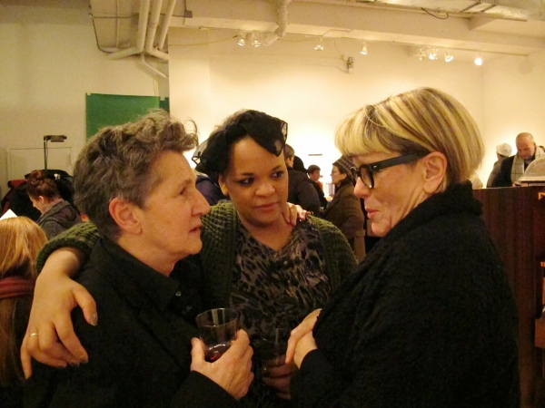 Peggy Shaw, Tracy Gentles (a collaborator from productions in London), Lois Weaver Photo
