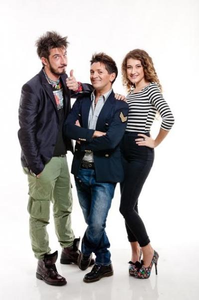 Paolo Ruffini, Manuel Frattini e Beatrice Baldaccini