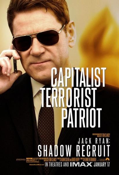 Kenneth Branagh in JACK RYAN: SHADOW RECRUIT