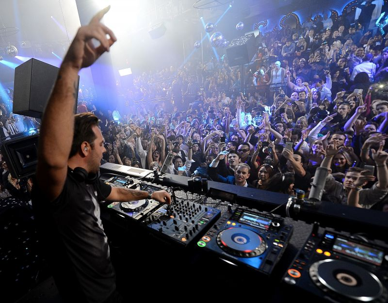 Photo Flash: The Light Group's New Year's Eve Party with Sebastian Ingrosso, John Legend and More