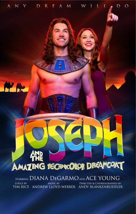 Flashy First Poster For Young & DeGarmo In JOSEPH & THE AMAZING TECHNICOLOR DREAMCOAT