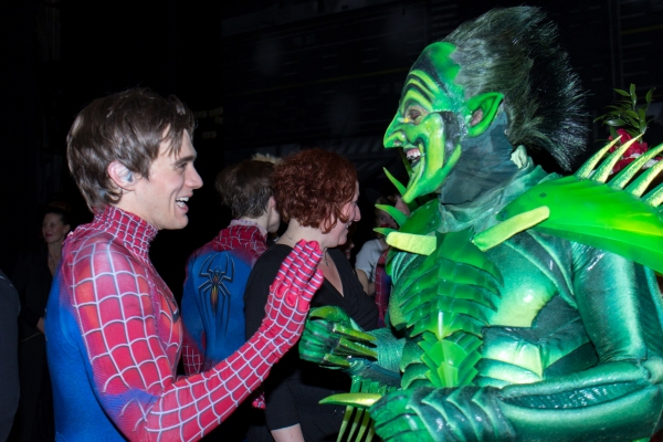 Photo Coverage: SPIDER-MAN: TURN OFF THE DARK Takes Final Flight on Broadway; Inside Closing Night Curtain Call!