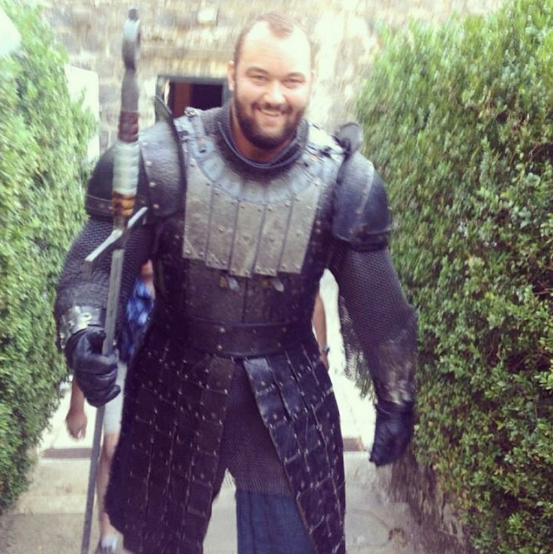 First Look at GAME OF THRONES' 'The Mountain'