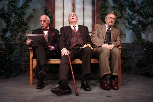 George Loizides, Cyrus Newitt and Tom Gustin Photo