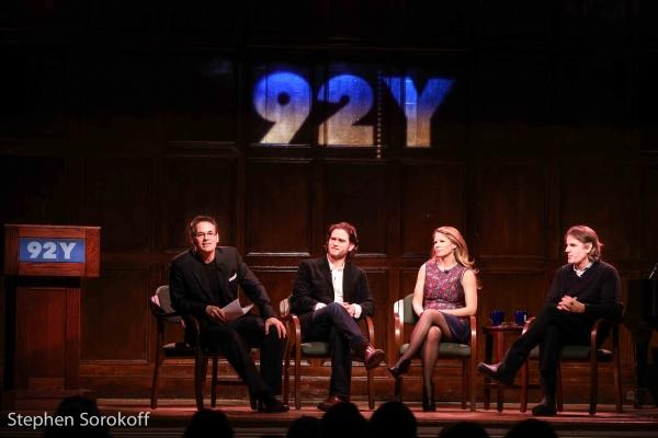 Adam Guettel, Steven Pasquale, Kelli O''Hara, Bartlett Sher Photo