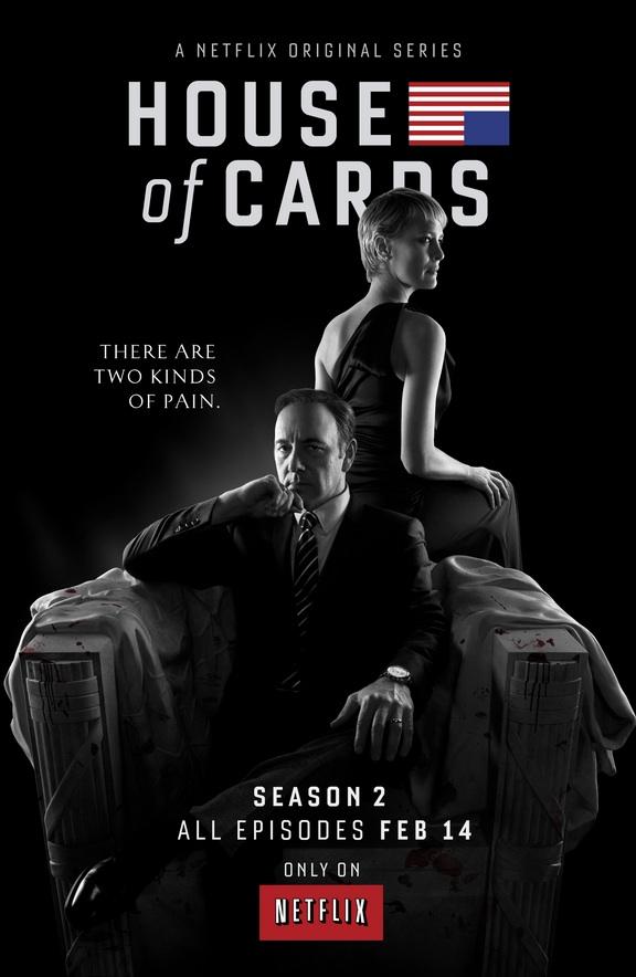 VIDEO: Netflix Reveals Key Art, Full-Length Trailer for HOUSE OF CARDS Season 2