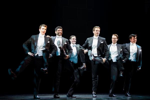 Shayne Kennon, Tony Yazbeck, Chris Dwan, Douglas Williams, Will Taylor and Will Blum  Photo